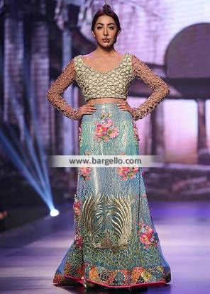 Indian Lehenga Choli Bridal Wear Halifax UK Lehenga Auspicious Embellishments