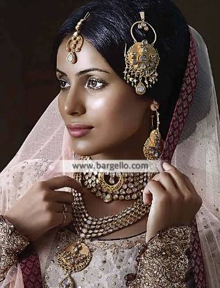 Gold Plated Pakistani Bridal Kundan Jewellery Sets Kew Garden New York NY USA