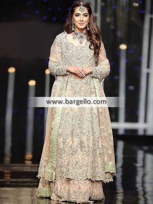 Latest Pakistani Anarkali Dresses for Wedding Trendiest Pakistani Bridal Maxi