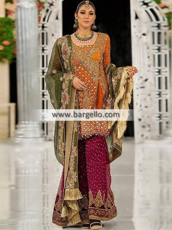 Pakistani Bridal Wear Sydney Australia Designer Aisha Imran Bridal Wear Designs with price