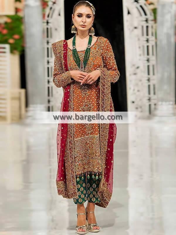Pakistani Wedding Guest Dresses Tacoma Washington USA Pakistani Designer Occasional dresses