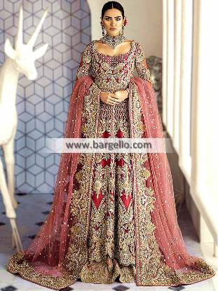 Designer Wedding Lehenga Suit Virginia (Richmond) Wedding Maxi and Lehenga Suit Pakistan