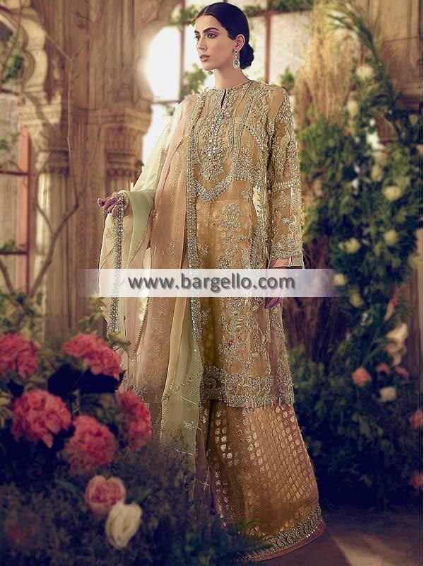 Sharara for Wedding Party San Francisco California Designer Sharara Suits