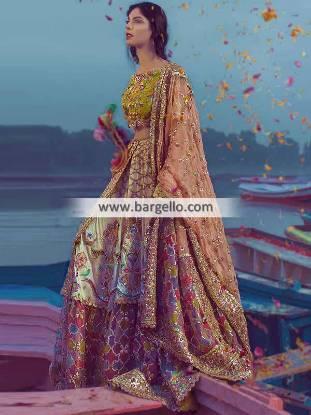 Indian Wedding Lehenga Choli Latest Designer Deena Rahman Wedding Lehenga Choli