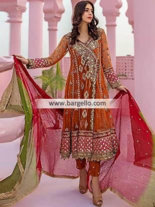 Pakistani Angrakha Suits Oslo Norway Angrakha Dresses Lillestrom