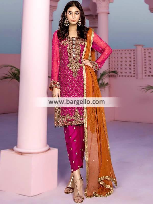 Latest Pakistani Party Dresses Tyne and Wear UK Aisha Imran Party Wear