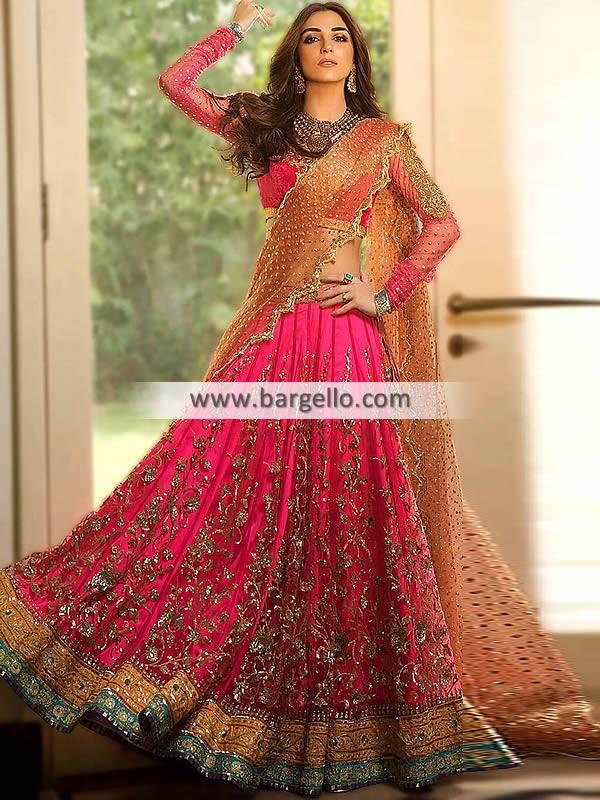 Latest Bridal Lehenga Bromley London UK Gorgeous Bridal Lehenga