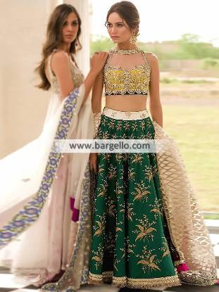 Chikankari Lehenga Suits Southall UK Elan Chikankari Suits NAfeesa Bridal Collection