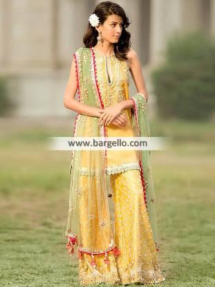 Dresses for Mehendi Dresses Southall UK Mayun Dress Pakistani Bridal Party Dresses