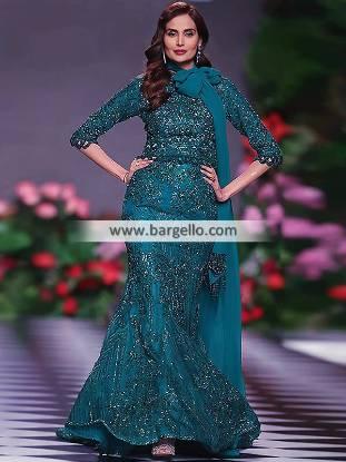 Mermaid Lehenga for Formal Dresses Dorchester London UK Party Dresses