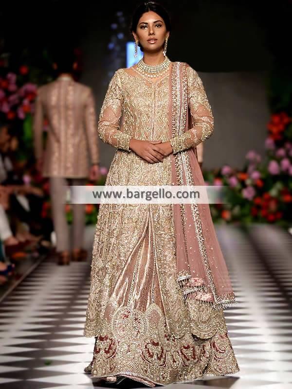 Pakistani Bridal Lehenga Salisbury London UK Latest Bridal Lehenga Collection
