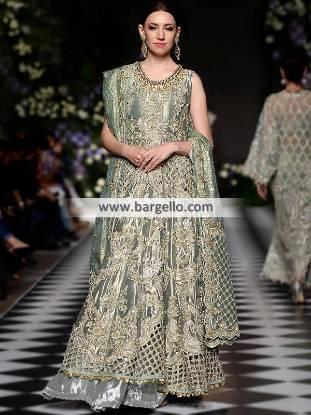 Exquisite Bridal Gown Doha Qatar Designer Floor Length Bridal Gown