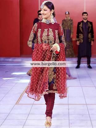 HSY Anarkali Suits Bellevue Washington USA Latest Designer Anarkali Suits