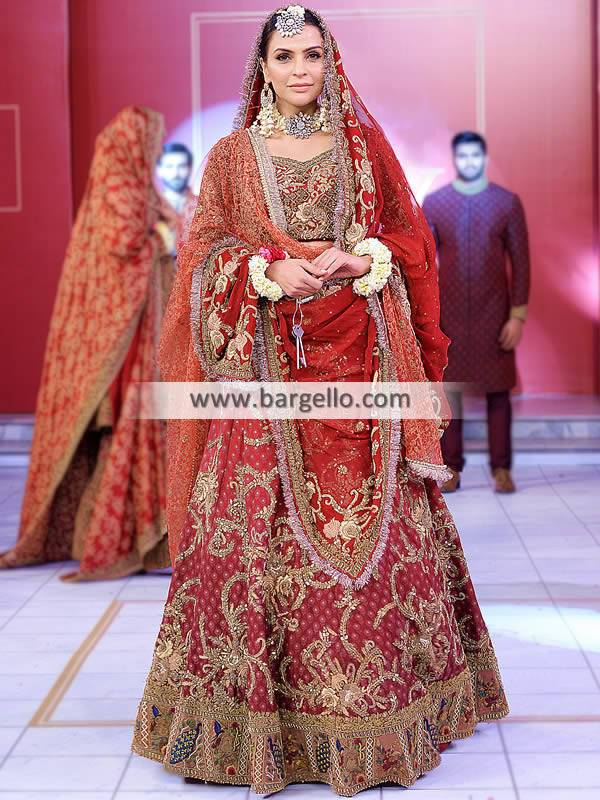 Latest Lehenga Choli Trends Pakistan Designer Hsy Lehenga Choli Pakistani Pakistani Bridal Dresses Indian Bridal Dresses Bridal Lehenga Gharara Sharara