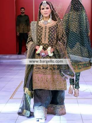 Latest Wedding Bridal Sharara Designs & Trends Richardson Texas TX USA