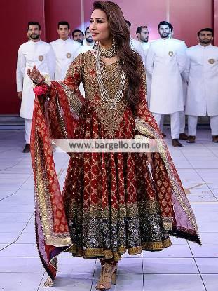 Beautiful Bridal Anarkali Dresses Richardson Texas TX USA