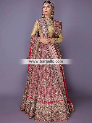 Fahad Hussayn Dastan Goh Collection Latest Bridal Lehenga
