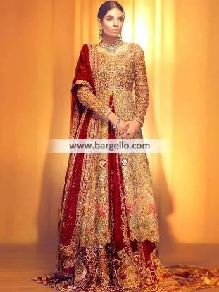 Pakistani Wedding Dresses Buffalo New York USA Floor Length Lehenga Wedding