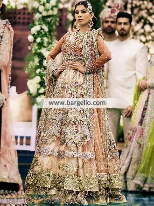 Anarkali Style Walima Dresses Designer Walima Bridal Dresses