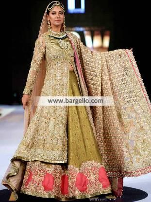 Bridal Anarkali Gowns Virginia Maryland USA Designer Anarkali Gowns for Wedding