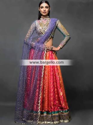 Attractive Wedding Dresses Nomi Ansari Bridal Collection with Price Range