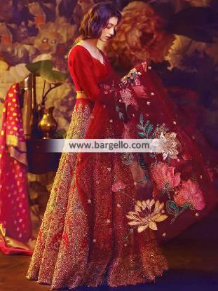 Ali Xeeshan Bridal Dresses Wedding Dresses Weston Florida FL USA Wedding Lehenga