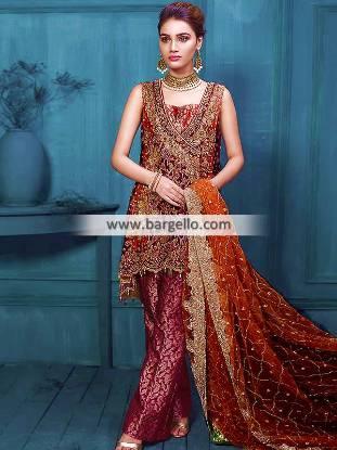 Pakistani Designer Anarkali Suits Occasional Dresses Engagement Wedding and Formal Events