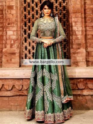 Breathtaking Wedding Lehenga Orlando Florida USA Indian Pakistani Lehenga