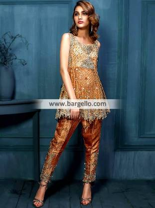 Latest Peplum Frocks Pakistan Short Frocks Peplum Frocks Trouser Suit