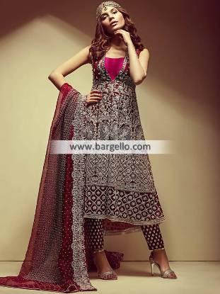 Indian Pakistani Anarkali Suits Beverly Hills California CA USA Bridal Anarkali Suits