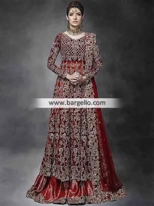 Traditional Bridal Lehenga Indian Latest Pakistani Designer Lehenga in Traditional Color