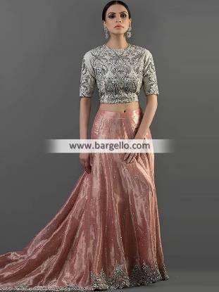 Designer Wedding Lehenga Los Angeles California USA Wedding Guest Dresses