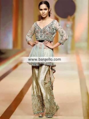 Adorable Peplum Dresses Manitoba Canada Indian Pakistani Designer Peplum Dresses