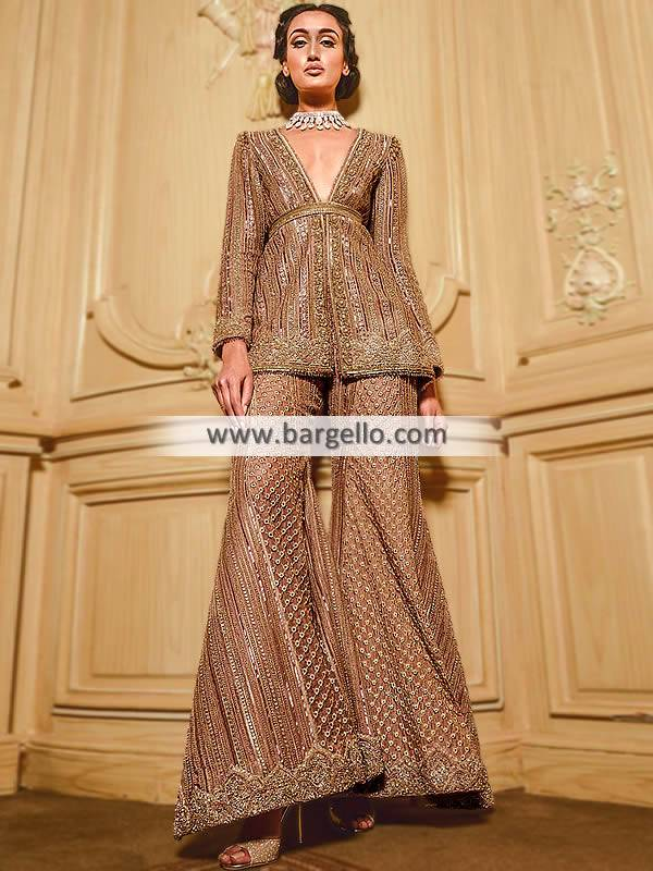 High Fashion Party Dresses Faraz Manan Couture Viceroy Collection
