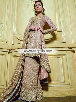 Designer Wedding Guest Dresses Pakistan Faraz Manan Latest Bridal Wear