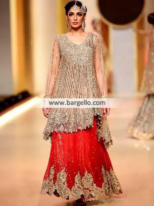 Bridal Angrakha Dresses Manchester London UK Pakistani Bridal Dresses