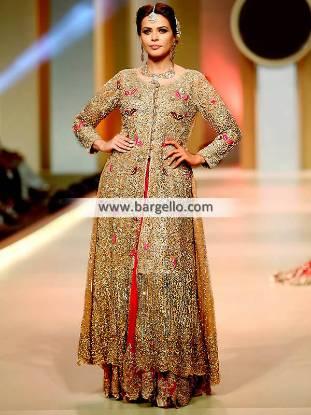 Charming Anarkali Bridal Lehenga for Newly Weds Family Wedding Functions