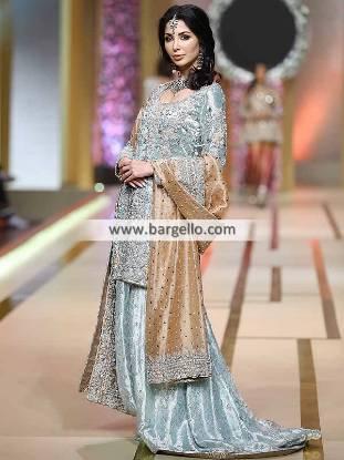 Floor Length Sharara Wedding Sharara for Many Formal Events Pakistani Designer Sharara