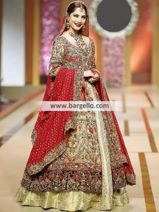 Designer Annus Barber Wedding Dresses Wedding Lehenga with price Lehenga Collection Pakistan