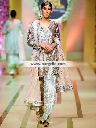 Bridal Couture Week Sana Abbas Wedding Functions Pakistani Party Dresses