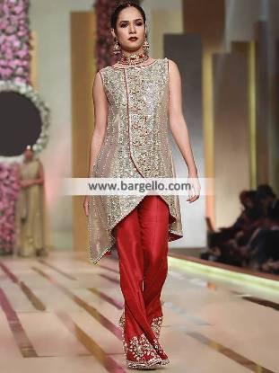Pakistani Angrakha Dresses Texas USA Designer Women's Clothing Online Shopping Evening Dresses