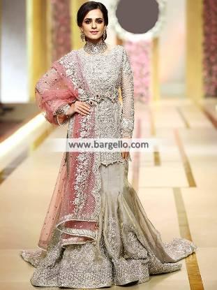 Asian Bridal Lehenga Dress Fishtail Lehenga Dresses Bellerose New York NY US