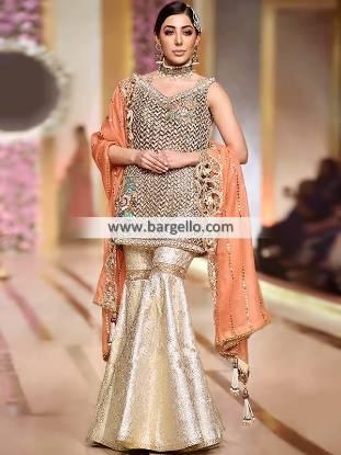 Designer Wedding Gharara Dresses Roslyn New York NY USA