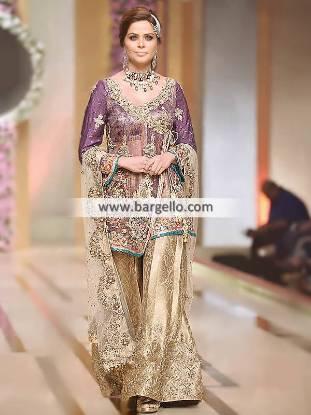 Angrakha Style Wedding Dresses Pakistani Angrakha Dresses Elmont New York NY US