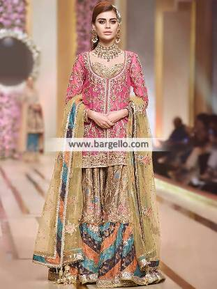Wedding Sharara Dresses Pakistani Wedding Dresses Richmond Hill New York NY US