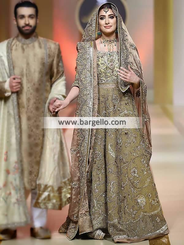 Designer Bridal Gowns Designer Pakistani Bridal Wear Oak Tree Road New York NY US