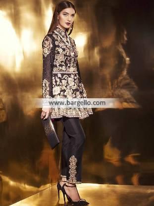 Elan Party Dresses Anarkali Suits Jersey City New Jersey NJ USA Designer Anarkali Suits