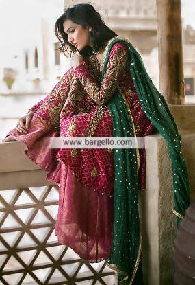 Angrakha Style Dresses Angrakha Style Salwar Kameez Online Barking UK