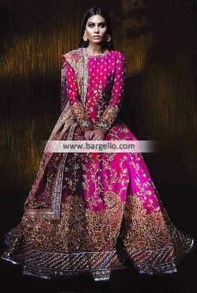 Bridal Anarkali Suits Designer Bridal Anarkali Dresses Denny UK