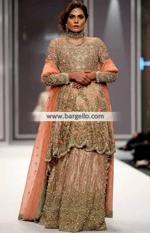 Designer Pakistani Bridal Wear Designer Wedding Lenghas Manchester UK